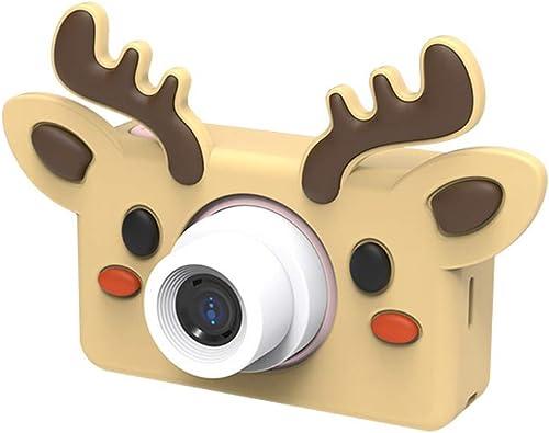 precios bajos todos los dias ZFD 2.0 Pulgadas de cámaras cámaras cámaras para Niños Mini videocámara Digital con Bricolaje Pegatinas de Dibujos Animados Niños Lindos Regalo de Juguete Niños cámara para Niños Niños niñas,elk  conveniente