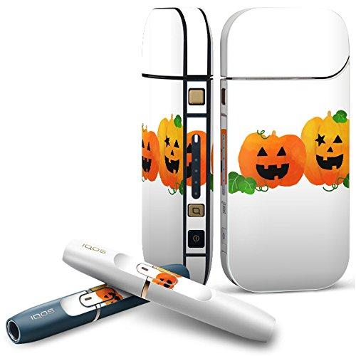 IQOS 2.4 plus 専用スキンシール COMPLETE アイコス 全面セット サイド ボタン デコ ハロウィン かぼちゃ おばけ 012741