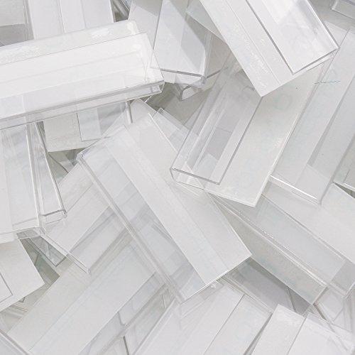 だいし屋 日本製 フック アクセサリー台紙用 透明プラスチック 23×11×3mm (150個) A002