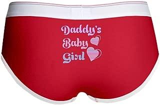 CafePress - Daddy's Baby Girl Women's Boy Brief - Women's Boy Brief, Boyshort Panty Underwear with Novelty Design