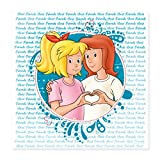 Spreadshirt Bibi und Tina Freundschaft Herzgeste Poster