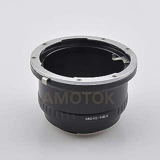 Mamiya 645 Mount Lens to for Sony E A6300,A7,A7R, A7II,A7S, A7M2,NEX-7, NEX-6, NEX-5, NEX-3; NEX-5N,NEX-C3,NEX-5R,NEX-F3,NEX-7,NEX-6, NEX-VG10 VG20 VG30 VG900E EA50 Camera