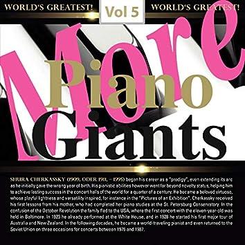 More Piano Giants: Shura Cherkassky, Vol. 5 (Live)