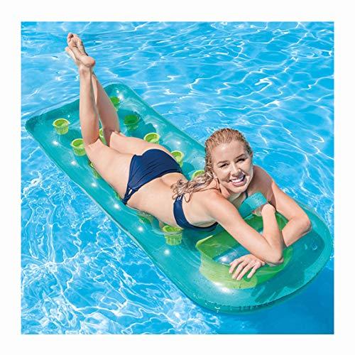 YBZS Schwimmring,Wasserstuhl/Umwelt Polymer PVC/Erwachsene Männer Und Frauen / 0,35 Mm Dickes Material/Klein,Grün
