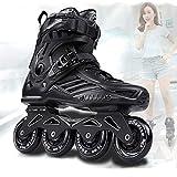 Béquilles RS6 Inline Skates Professional Slalom Adult Roller Skating Shoes Sliding Free Skate Patins Size 35-46 Good As SEBA Sneakers