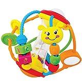 Pelota con actividades sensoriales múltiples para bebés
