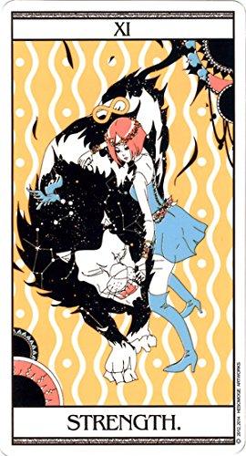 【美麗なイラストレーション】青い鳥のタロット