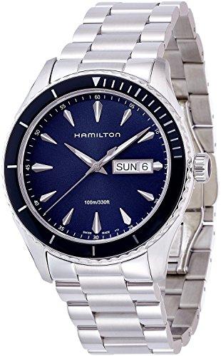 HAMILTON orologio Jazzmaster Seaview Day Date H37551141 Uomo [merci importate regolari]