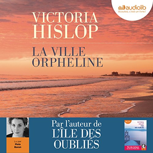 La ville orpheline audiobook cover art