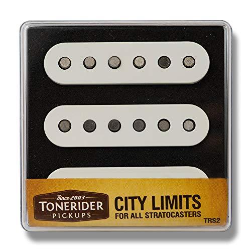 Tonerider - TRS2 - City Limits - Set de micros pour Stratocaster - Blanc (Import Royaume Uni)