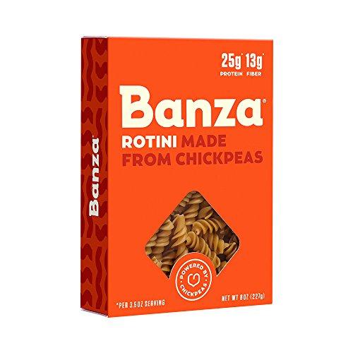 Banza Chickpea Pasta, Rotini, 8 oz