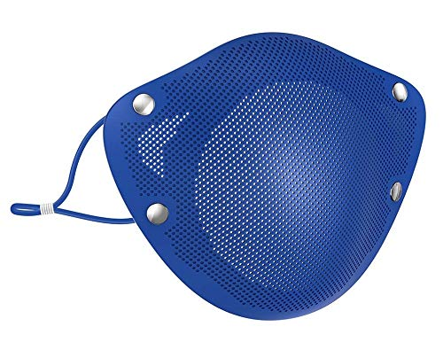 Reusable Silicone Mask With Replaceable Inner Filters (Blue)