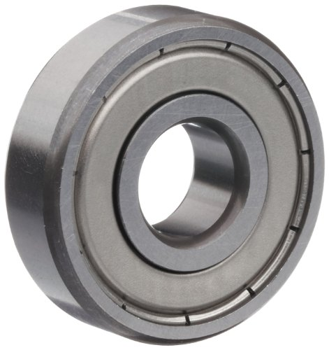 Timken 36KDD Extra Small Ball Bearing, Double Shielded, No Snap Ring, Metric, 6 mm ID, 19 mm OD, 6 mm Width, Max RPM, 195 lbs Static Load Capacity, 560 lbs Dynamic Load Capacity