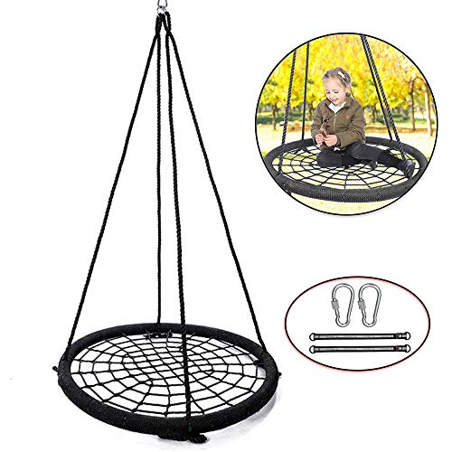Tree Net Swing Spider Web Platform Rope Swing 39