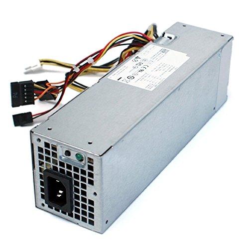 Nadalan PC Fuente de alimentación 240W H240AS-00, L240AS-00, D240ES-00, AC240AS-00, AC240ES-00 Fuente de alimentación universal Adecuado para Dell 390,790,990,3010,7010,9010SFF
