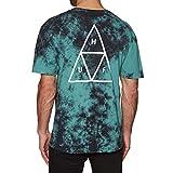 HUF Triple Triangle - Camiseta de manga corta (tamaño pequeño), diseño de jungla