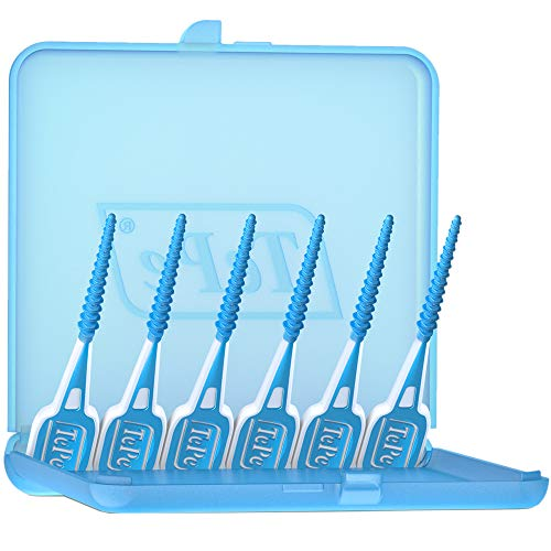 TePe EasyPick Dental Stick in Größe M/L / Für eine einfache, tägliche Anwendung zwischendurch und unterwegs, 1 x 36 Stück inklusive praktischem Taschenetui
