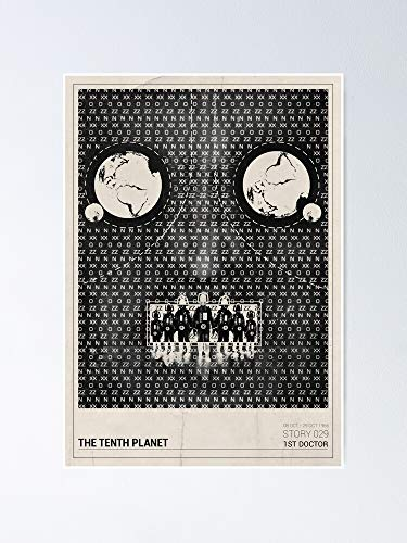 guyfam The Tenth Planet Poster 11.7x16.5 Inch Frame Board For Office Decor, Best Gift Dad Mom Grandmother And Your Friends