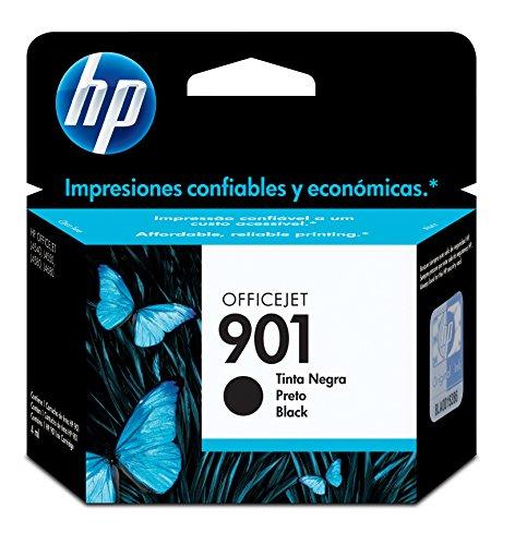 HP Cartucho Original de Tinta Negra 901 (CC653AL)