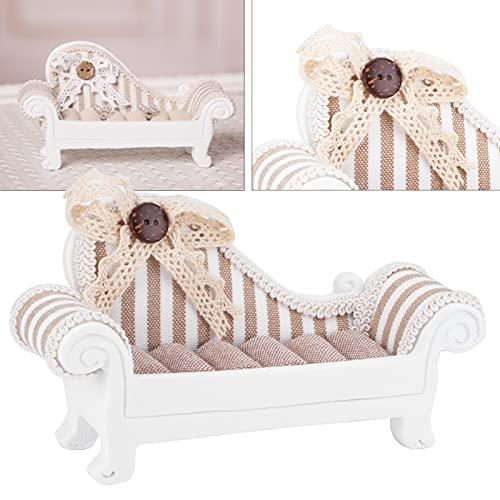 Soporte de joyería, soporte de joyería de resina sintética lindo sofá modelado multifuncional para mujeres para joyería para decoración del hogar