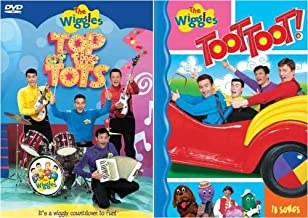 The Wiggles - Toot Toot! / Top of the Tots (2 Pack)
