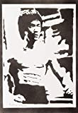 Bruce Lee Poster Plakat Handmade Graffiti Street Art - Artwork