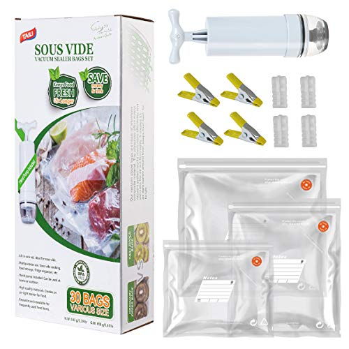 TAILI Sous Vide Bags Kit for Anova and Joule...