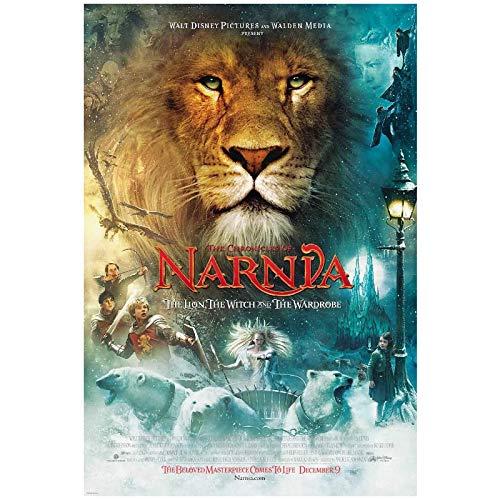 Las crónicas de Narnia: El león, la bruja y el armario (2005) Póster de película Impresión en lienzo Pintura Arte de la pared para la decoración del dormitorio de la sala de estar-50x75cm Sin