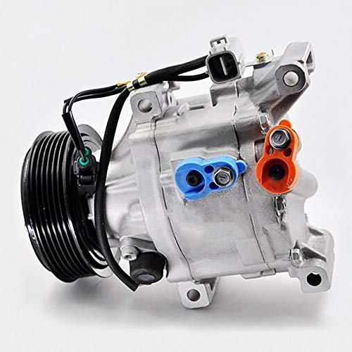 SINOCMP 6PK AC Compressor Pump Pulley 88310-1A523 Air Compressor New Air Conditioning Compressor AC Compressor Clutch Assy for Toyota Corolla 1.6 SCSA06C, 3 Month Warranty