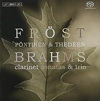 Brahms:Clarinet Sonata&Trio/ブラームス:クラリネットソナタ第1番ヘ短調 Op.120 の1 [Import]