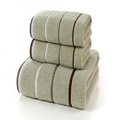 Toallas Conjuntos 70*140cm Albornoz de algodón de una sola pieza Toalla de baño Gruesa Grande Conjunto de Baño Familiar Hotel Adulto