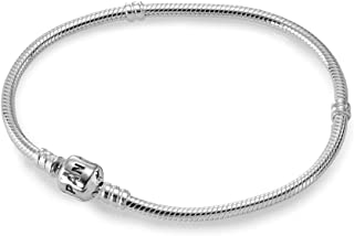 Pandora Women's Silver Sterling Silver Bangle Bracelet, 15cm - 590702HV-15