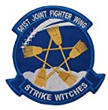 501st Joint Fighter Wing Strike WitchesMilitary Patch Fabric Embroidered Badges Patch Tactical Stickers for Clothes with Hook & Loop