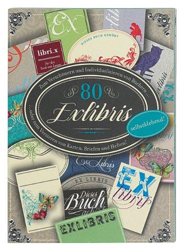 Moses 81099 80 ExLibris Stickerbuch, selbstklebend