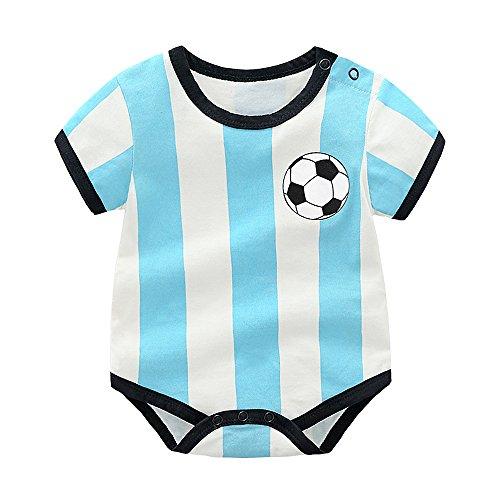 Mukola Newborn Baby Soccer Onesie World Cup Brazil Argentina Jersey for Unisex Baby