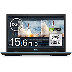 Dell ゲーミングノートパソコン Dell G3 15 3500 ブラック Win10/15.6FHD/Core i5-10300H/8GB/256GB SSD+1TB HDD/GTX1650 NG35G5A-AWLB