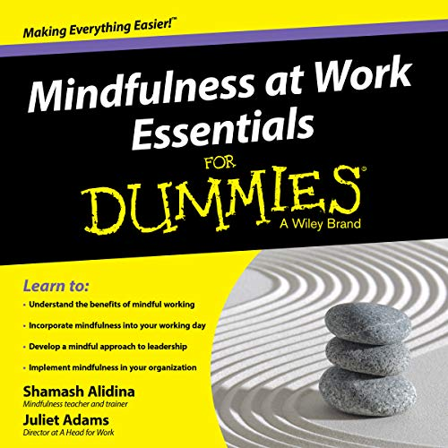Mindfulness at Work Essentials for Dummies audiobook cover art