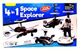 Educational 4 in 1 Space Explorer game for kids with solar-powered and 4 amazing different models. This is all in one package that teaches kids to assemble, build and learn about robotics and engineering. | This is a very unique and learning game for...