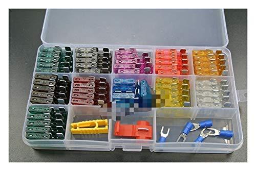 Sicherungen und Zubehör für das Auto 1A 2A 3A 4A 5A 7.5A 10A 15A 20A 25A 30A Blade Fuse Sortiment Auto-Auto-LKW Motorrad Sicherungen Kit ATC ATO ATM