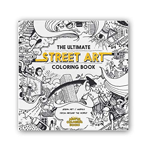 The Ultimate Street Art Coloring Book: Lite Edition