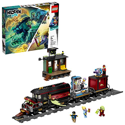 LEGO Hidden Side Ghost Train Express 70424 Building Kit, Train Toy for 8+ Year Old Boys and Girls, Interactive Augmented...