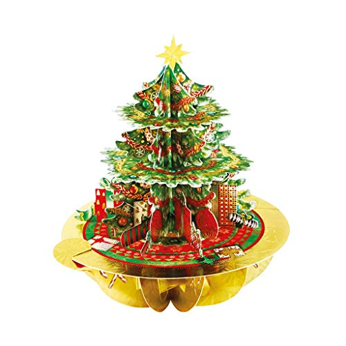 3D Pop Up Christmas Card - Christmas Tree XPS082