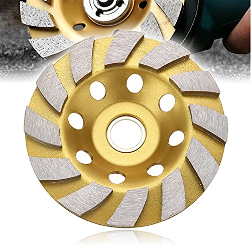 Amplia aplicación Diamond Cup Molling Wheel Rueda de pulido de la copa de diamante, 100 mm Diamante de diamante de muelle de muelle de la rueda de la rueda de la taza de la taza de la taza de molienda