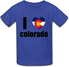Kid's Cute I LOVE COLORADO T-shirts