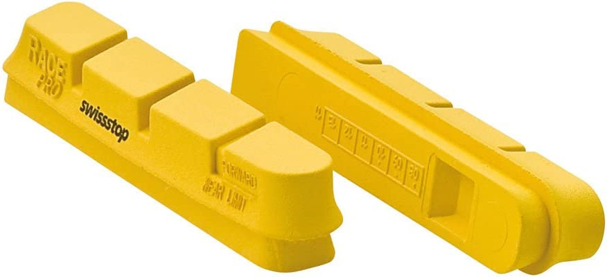 Swiss Stop Race Pro Yellow Cantilever Brake Pads Campy