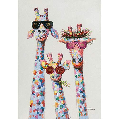 Diamond Painting Kits for Adults, Kids. Room Decoration, Home Office Giraffe 11.8x15.7 in by Lazodaer