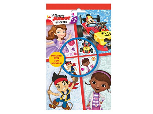 Anker- Disney Junior Set de 700 Stickers, DJSTR, Multicolore, 24.5 x 15.3 x 0.3 cm