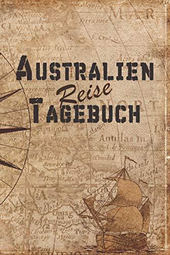 Australien Reise Tagebuch: 6x9 Reise Journal I Notizbuch mit Checklisten zum Ausfüllen I Perfektes Geschenk für den Trip nach Australien für jeden Reisenden