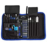 Professional Electronics Repair Kit 81 in 1 Magnetic Driver Kit with Portable Bag Pro Tech Toolkit for Electronics - Smartphone, Computer, Tablet Laptop, iPhone, iPad, PC, iPod