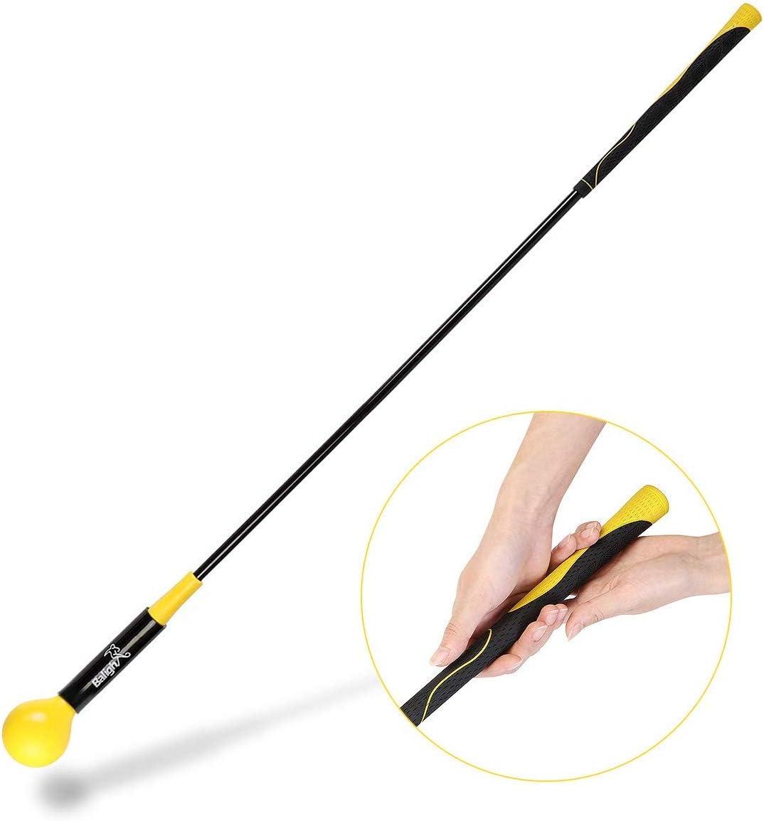 Zeonetak Golf Swing Trainer Aid Improving High material 1 year warranty Rhythm for Flexibility